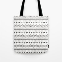 mexico Tote Bags featuring Mexico by Marta Li