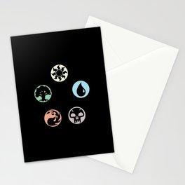 MTG Symbols Stationery Cards