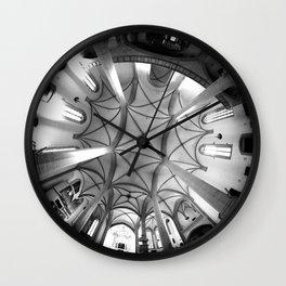St. Mary's Church St. Mary's parish church in Torgau BW 2 Wall Clock