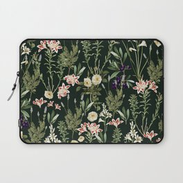 Dark Botanical Garden #society6 #natureart #pattern Laptop Sleeve