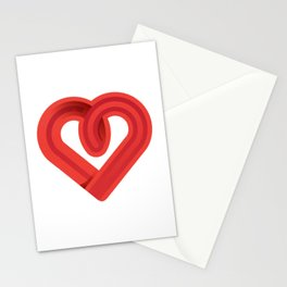 In the name of love Stationery Cards