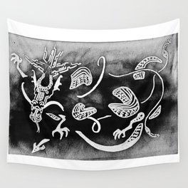Thunder Dragon Wall Tapestry