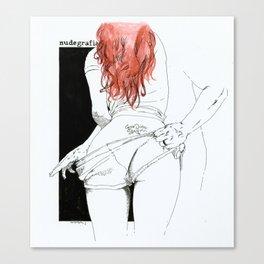 NUDEGRAFIA - 24 CARPE DIEM Canvas Print