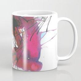 Strong pinky abstract color splash 8 Coffee Mug