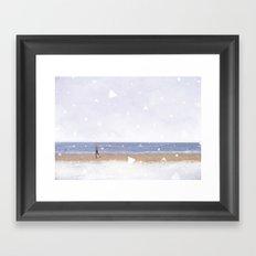 Calm and Quiet Framed Art Print