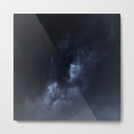 Evening Thunderstorms Metal Print
