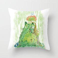 The Friendly Spirit Throw Pillow