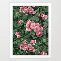 amelie Art Prints featuring Amelie by Marta Li