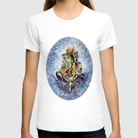 ganesha T-shirts featuring Ganesha by Harsh Malik