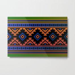 Carpet pattern Metal Print