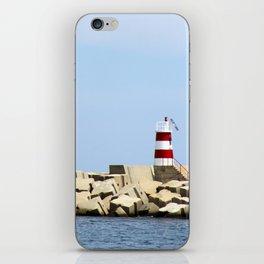 Sea Blocks iPhone Skin