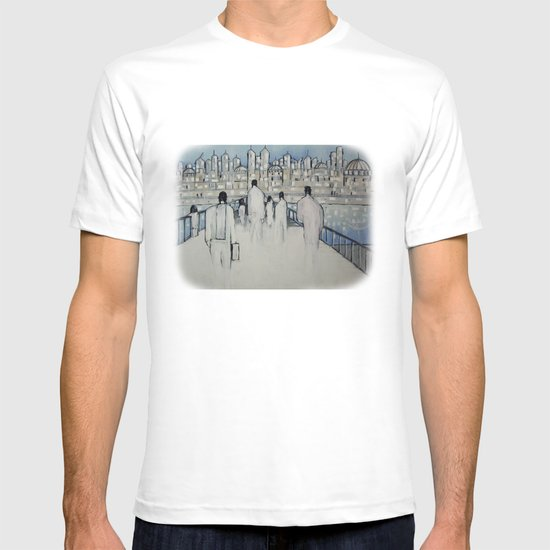 foot traffic 02 T-shirt