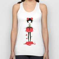 rose Tank Tops featuring Rose by Freeminds