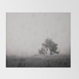 the fog ... Throw Blanket
