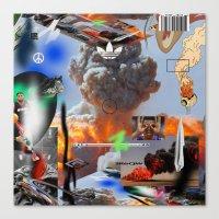 lebron Canvas Prints featuring Show Me The Money by artbynatejames