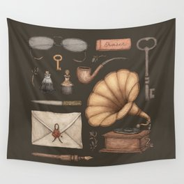 A Sophisticated Assemblage Wall Tapestry