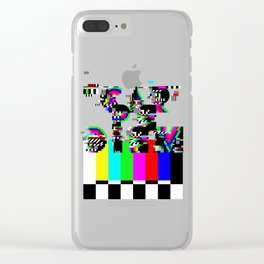 Carpe Diem #typography #lettering #glitchart #buyart #society6 Clear iPhone Case