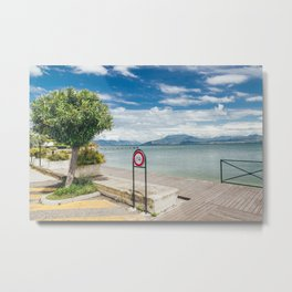 Garda Lake Metal Print