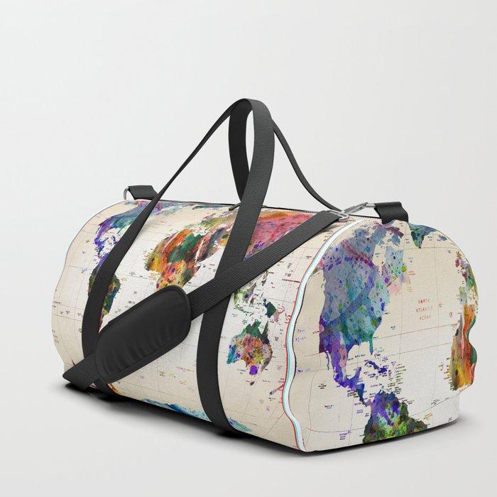 map Duffle Bag