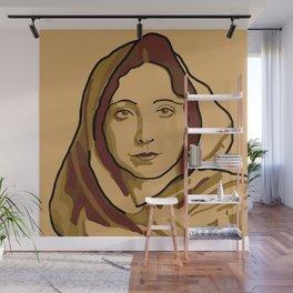 Anaïs Nin Wall Mural
