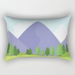 Nature landscape moutain Rectangular Pillow