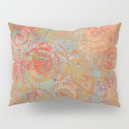 Gelatin monoprint 19 Pillow Sham