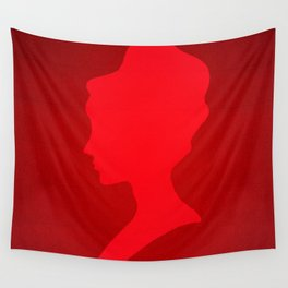 The Red Lady  Wall Tapestry