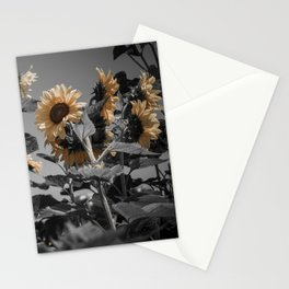 Sunflowers On My Mind Stationery Cards