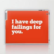 Deep Failings For You Laptop & iPad Skin