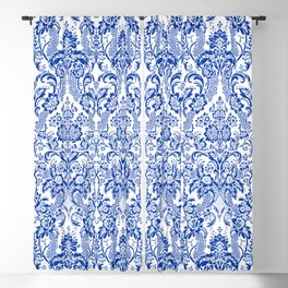 Blue Royal Blackout Curtain