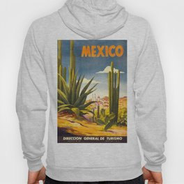 Vintage poster - Mexico Hoody