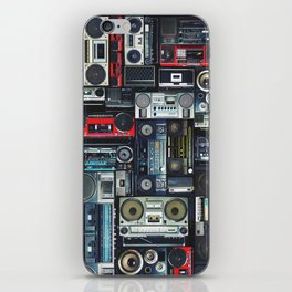 boomboxs iPhone Skin