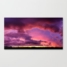 Redsky Canvas Print