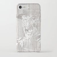freddy krueger iPhone & iPod Cases featuring Freddy Krueger by Aaron Bir by Aaron Bir