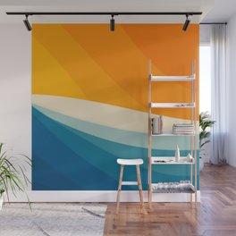 Abstract landscape art Wall Mural