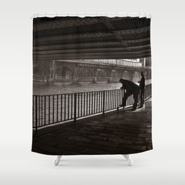 Autumnal Symphony of a Metropolis Shower Curtain