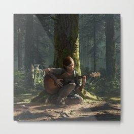 Ellie the last of us Metal Print
