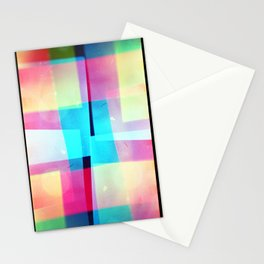 constructs #2 (35mm multiple exposure) Stationery Cards
