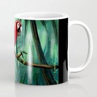 jungle Mugs featuring Jungle by NikkiBeth