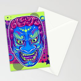 Neon Noh - Fudo Stationery Cards
