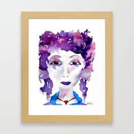 The Goddess Aphrodite Framed Art Print