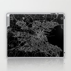 Dublin map Laptop & iPad Skin