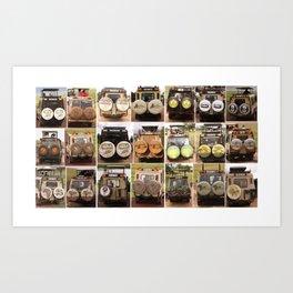 Safari Collection Art Print