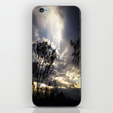 Peaceful and powerful sunset iPhone & iPod Skin