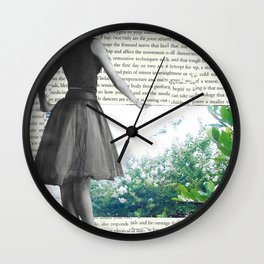 A Dancer's View to Another World Wall Clock
