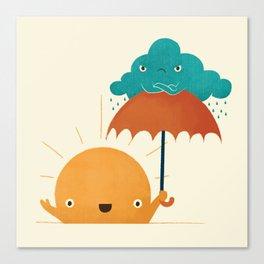 Lighten Up! Canvas Print