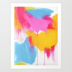 color study, may 2014 Art Print