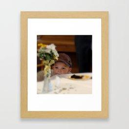 Sweet Boy Framed Art Print