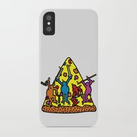 keith haring iPhone & iPod Cases featuring Keith Haring & Turtle by le.duc