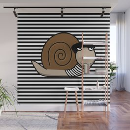 French Snail ~ Escargot Wall Mural